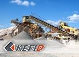 Línea de trituración para arena para granito con capacidad de producción 200-250 TPH
