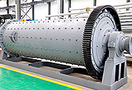 Ball Mill in the workshop