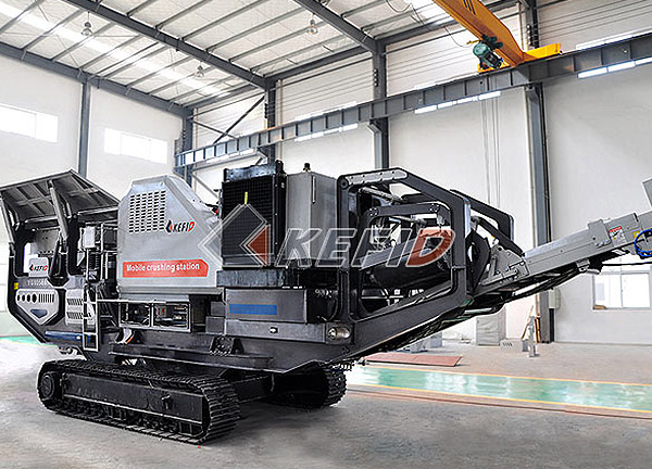 Mobile Crushing Plant in Chile