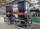 Cone Crushers in workshop