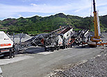 YG938E69 Mobile Crushing Plant