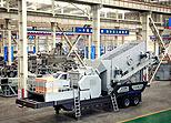 YG938E69 Mobile Crushing Plant