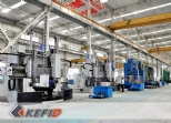 large vertical lathe machining