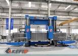 2500mm diameter lathe machining