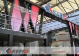 Kefid Stunning Apperance at Bauma China 2012