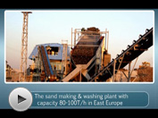 Kefid Sand Making Plant Video