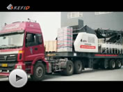 Delivery of Mobile Crusher