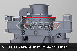 VU seies Vertical shaft impact crusher