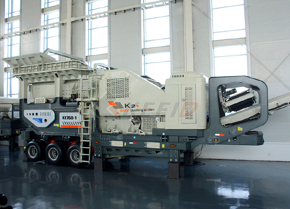 Primary mobile crushing plant