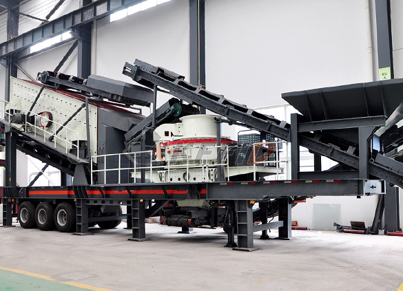 Fine crushing and screening mobile station