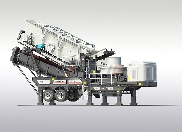 Fine crushing & washing mobile station