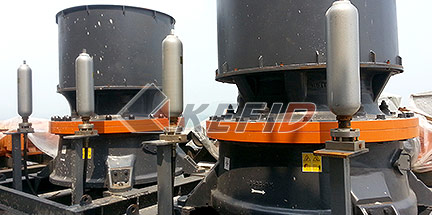 Kefid 100TPH granite crushing line in Russia