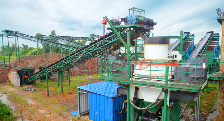 KEFID 150tph river stone sand making production line in the Philippines