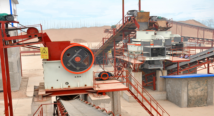 KEFID 250tph granite crushing line in South Africa
