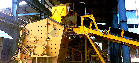 50-70TPH gold ore crushing production line