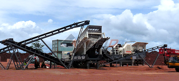 600-700TPH iron ore mining crushing production line