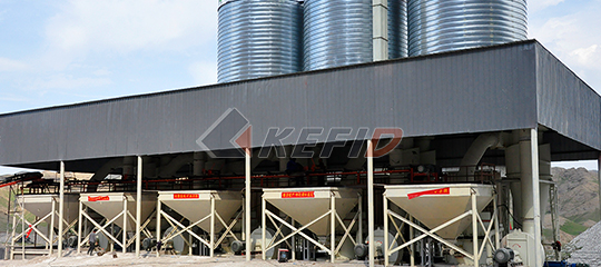 Non-metallic ore processing grinding mill plant