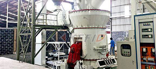 vertical grinding mill for water slag processing cement production
