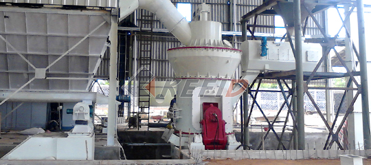 20TPH vertical mill for limestone desulfurization in power plant